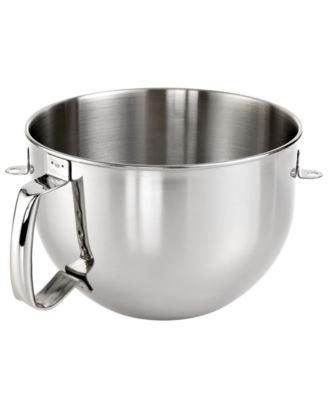 KitchenAid KN2B6PEH 6 Qt. Stainless Steel Stand Mixer Bowl