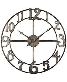 """Delevan Clock, 32"""""""