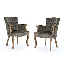 Rumi Dining Chairs (Set of 2), Quick Ship