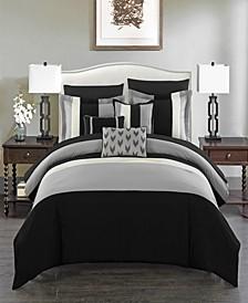Ayelet 10 Piece King Bed In a Bag Comforter Set