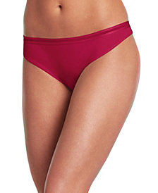 Jockey Cotton Allure Thong 1628, Created for Macy's