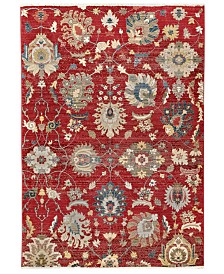 "Liora Manne' Calais 6079 Vintage Floral 1'11"" x 7'5"" Runner Area Rug"