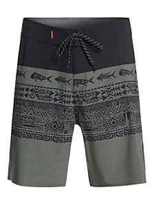 Quiksilver Waterman Men's Liberty Tri-Block Board Short
