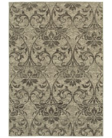 "Oriental Weavers Highlands 6609C Gray/Ivory 5'3"" x 7'6"" Area Rug"