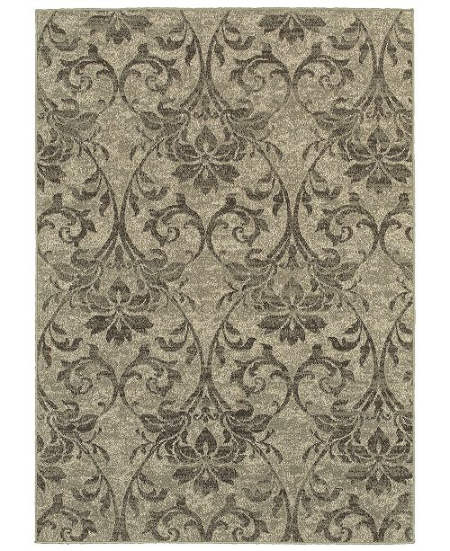 "Oriental Weavers Highlands 6609C Gray/Ivory 1'10"" x 3' Area Rug"