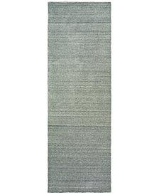 "Oriental Weavers Infused 67003 Gray/Gray 2'6"" x 8' Runner Area Rug"
