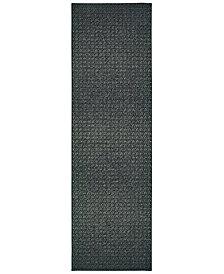 """Oriental Weavers Luna 2067B Black/Ivory 2'3"""" x 7'6"""" Runner Area Rug"""