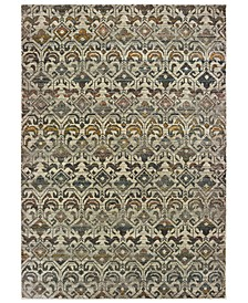 "Mantra 1330W Ivory/Gray 3'10"" x 5'5"" Area Rug"