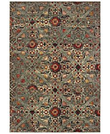 "Oriental Weavers Mantra 3X Gray/Multi 7'10"" x 10'10"" Area Rug"