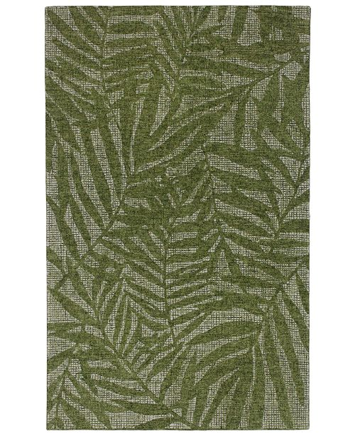 "Liora Manne' Savannah 9500 Olive Branches 3'6"" x 5'6"" Area Rug"