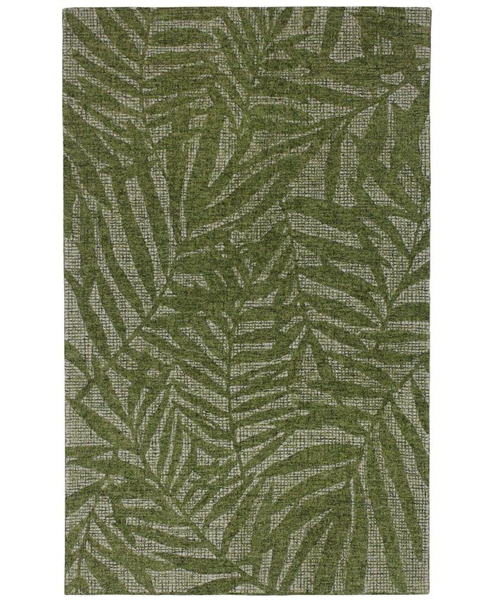 "Liora Manne' - Savannah 9500 Olive Branches 3'6"" x 5'6"" Area Rug"