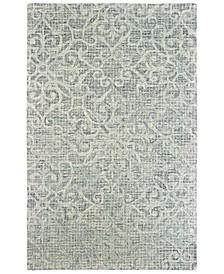 Tallavera 55602 Gray/Ivory 5' x 8' Area Rug