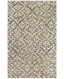 Oriental Weavers Tallavera 55607 Brown/Ivory 8' x 10' Area Rug