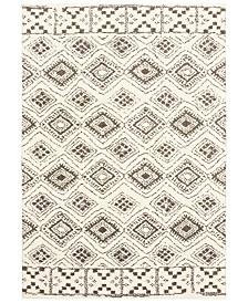 "Oriental Weavers Verona Shag 1330W Ivory/Brown 7'10"" x 10'10"" Area Rug"