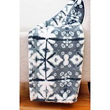 "Jade Shibori Loft Fleece Decorative 50"" x 60"""