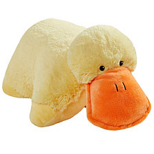 Pillow Pets Signature Puffy Duck Stuffed Animal Plush Toy