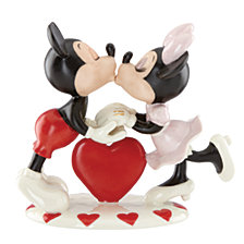 Lenox Mickey Loves Minnie Figurine