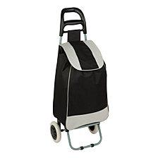 Honey Can Do Large Rolling Knapsack Bag Cart, Black