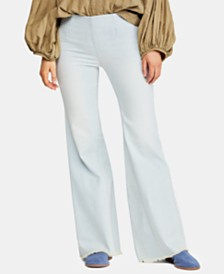 Free People Wide-Leg Pull-On Pants