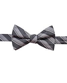 Ryan Seacrest Distinction™ Men's Matera Stripe Pre-Tied Bow Tie, Created for Macy's