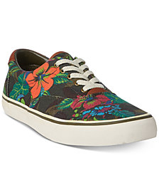 Polo Ralph Lauren Men's Floral Thompson Sneakers
