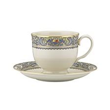 Autumn Tea Cup & Saucer Set