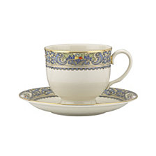 Lenox  Autumn Tea Cup & Saucer Set
