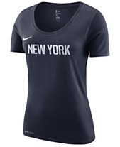 detailed look f0215 79f23 Nike Women s New York Knicks City Edition Logo T-Shirt