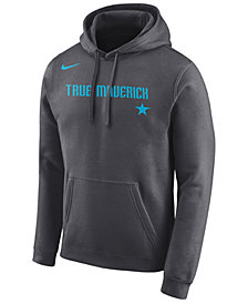 Nike Men's Dallas Mavericks City Club Fleece Hoodie