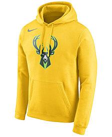 Nike Men's Milwaukee Bucks City Club Fleece Hoodie