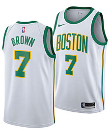 Nike Men's Jaylen Brown Boston Celtics City Swingman Jersey 2018