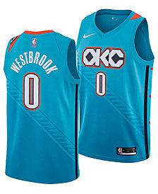 Nike Men's Russell Westbrook Oklahoma City Thunder City Swingman Jersey 2018
