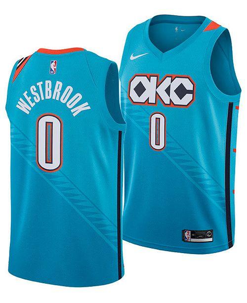 buy popular ead44 8c509 Nike Men's Russell Westbrook Oklahoma City Thunder City ...