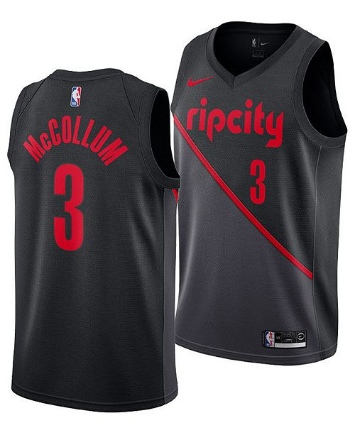 a23b7fa25 ... Nike Men s C.J. McCollum Portland Trail Blazers City Swingman Jersey ...