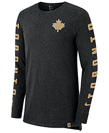 Nike Men's Toronto Raptors City Elevated Long Sleeve Dry T-Shirt