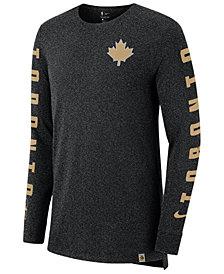 Nike Men's Toronto Raptors City Elevated Long Sleeve Dry T-Shirt