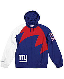 Mitchell & Ness Men's New York Giants Shark Tooth Jacket