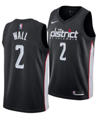 5e00efc85 Nike John Wall Washington Wizards City Edition Swingman Jersey 2018 ...