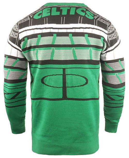 on sale d8da8 69de6 Men's Boston Celtics Bluetooth Sweater