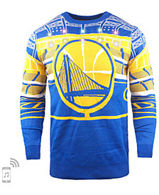 Forever Collectibles Men's Golden State Warriors Bluetooth Sweater