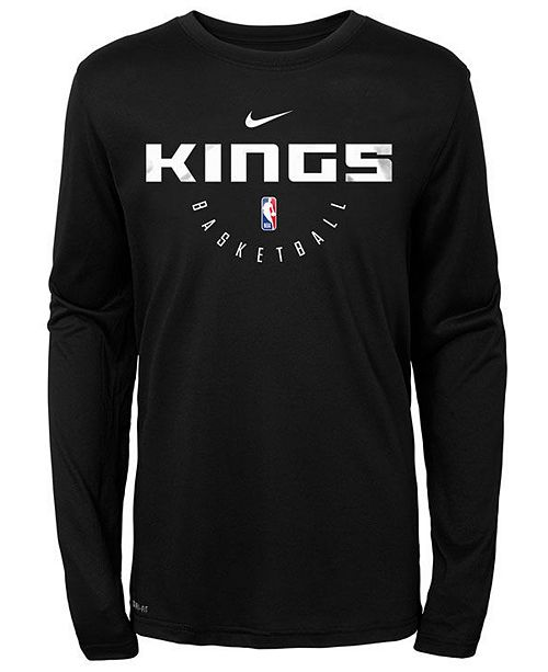 a65df99d416c Nike Sacramento Kings Long Sleeve Practice T-Shirt