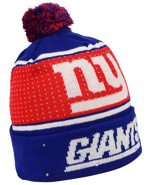 1a61ae644ff ... 50% off new york giants big logo light up knit hat. be the first