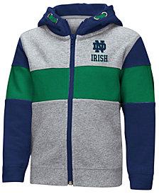 Colosseum Notre Dame Fighting Irish Colorblocked Full-Zip Sweatshirt, Toddler Boys (2T-4T)