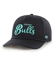 '47 Brand Chicago Bulls Diamond Blue CAPTAIN Strapback Cap