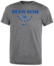 Nike Kentucky Wildcats Basketball Legend Logo T-Shirt 2018, Big Boys (8-20)