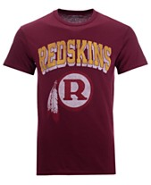883ed11805b Authentic NFL Apparel Men s Washington Redskins Shadow Arch Retro T-Shirt
