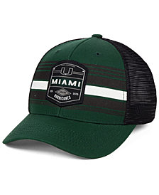 Top of the World Miami Hurricanes Branded Trucker Cap