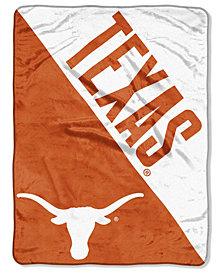 Northwest Company Texas Longhorns Micro Raschel Halftone Blanket
