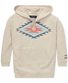 Polo Ralph Lauren Little Girls Southwestern Hoodie