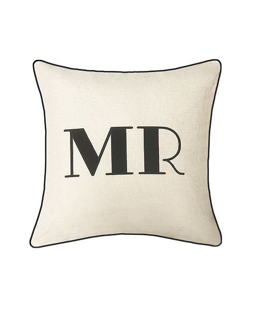 Edie@Home  Mr & Mrs Decorative Pillow Collection